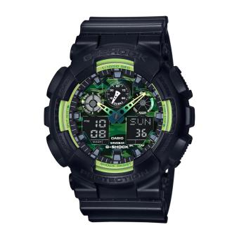 Casio G-Shock Sporty Illumi Series Black Resin Band Watch GA110LY-1A