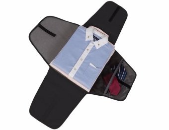 Luggage Travel Gear Garment Folder Business Shirt Packing Organizers Travel Accessories For Business Organizer For Ties(Black) - intl - 3