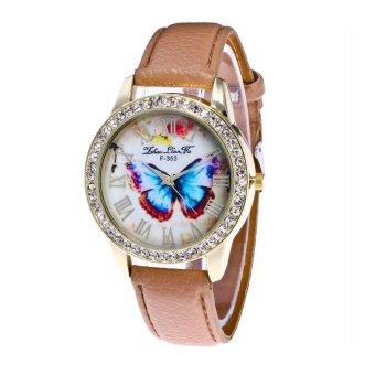 Harga CocolMax Watch Candy Color Male And Female Strap Wrist Watch - intl