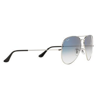 Harga RAY-BAN AVIATOR LARGE METAL CRYSTAL GRADIENT LIGHT BLUE Lenses RB3025 003/3F MAN SUNGLASS