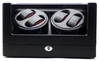 Harga Watch winder 4+0 black carbon fiber