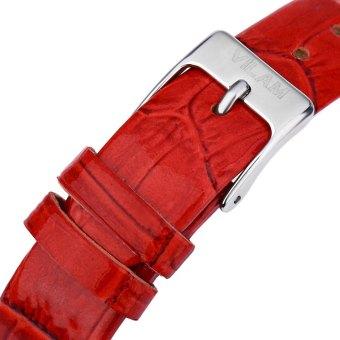 VILAM V1001L Female Quartz Watch Flower Pattern Artificial Crystal Pearl Shell Dial Wristwatch - 4