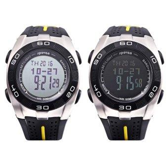 S&L SPOVAN Blade 5 Digital Sports Watch Weather Forecast Altimeter Thermometer 5ATM Wristwatch (Black) - intl - 3