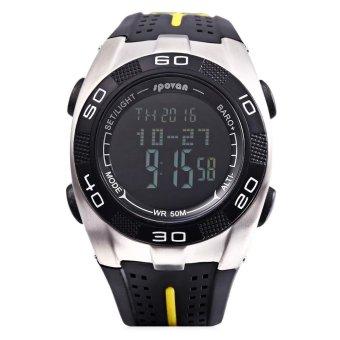 S&L SPOVAN Blade 5 Digital Sports Watch Weather Forecast Altimeter Thermometer 5ATM Wristwatch (Black) - intl - 2