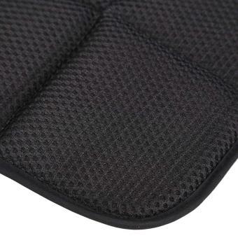 42cm*42cm Bamboo Charcoal Breathable Car Seat Cushion Cover Chair Mat Black - 5