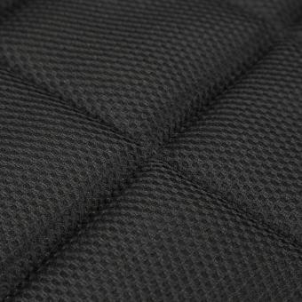 42cm*42cm Bamboo Charcoal Breathable Car Seat Cushion Cover Chair Mat Black - 3