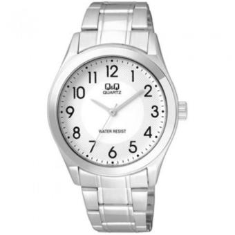 Harga Q&Q Q932J204Y By Citizen Stainless Steel White Dial Analog Numeral Casual Watch