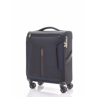 Harga American Tourister Airliner Spinner 55/20 ASIA TSA (Black/Orange)