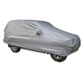 Harga Size L 4.85 x 1.9 x 1.85 SUV Water Resistant Dust-Proof Anti-Scratching Resist Snow Car Cover (Silver)