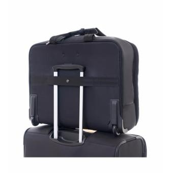Samsonite Fortuna Rolling Tote (Black) - 3