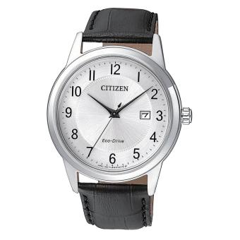Harga Citizen Watch ECO-DRIVE Black Stainless-Steel Case Leather Strap Mens Japan NWT + Warranty AW1231-07A