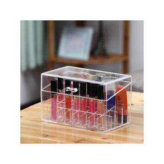 Harga Acrylic Cosmetic Lipstick and Skincare Holder