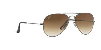 Harga RAY-BAN AVIATOR LARGE METAL CRYSTAL BROWN GRADIENT Lenses RB3025 004/51 MAN SUNGLASS