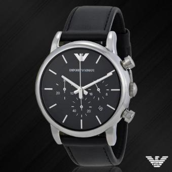 Harga Emporio Armani Men's AR1733 Classic Analog Display Analog Quartz Black Watch