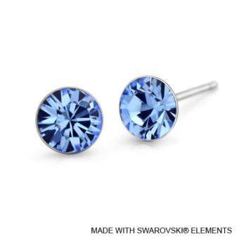 Harga Lori Earrings (Light Sapphire) - Crystals from Swarovski®
