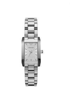 Harga Emporio Armani AR0359 Ladies Classic Silver Watch