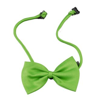 Harga Cyber Cats and dogs in the pet bow tie (green) - intl
