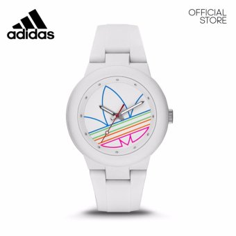 Harga ADIDAS ORIGINALS ABERDEEN WHITE SILICONE WATCH