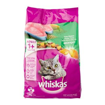 Harga Whiskas Tuna Dry Food for Cat - 1 x 1.2 kg