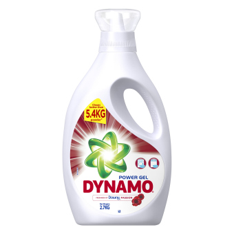 Harga Dynamo® Power Gel Freshness of Downy® Passion Concentrated Gel Detergent 2.7KG