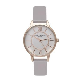 Harga Olivia Burton Ladies Wonderland Grey Lilac, Rose and Silver OB15WD51
