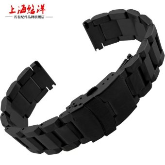 Harga UYOUNG 22mm solid core stainless steel strap