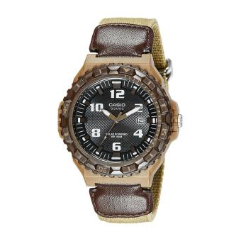 Harga Casio Watch Solar Powered Brown Resin Case Nylon Strap Mens NWT + Warranty MRW-S300HB-5B