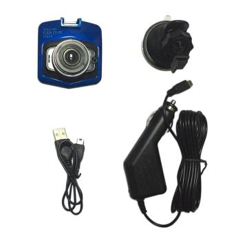 "Harga Beau 2.4"" LCD Car Camera DVR 1080P HD Vehicle Video Recorder Dash Cam G-sensor blue - intl"