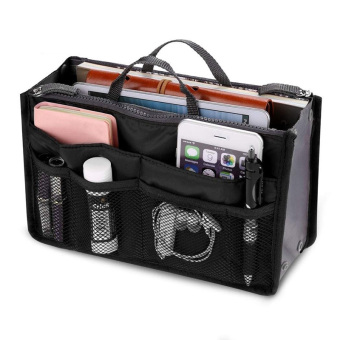 Harga PAlight Cosmetic Pouch Organizer Storage bag (Black)