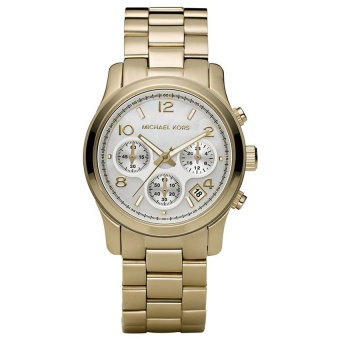 Michael Kors Ladies' Gold Stainless Steel Strap Watch MK5305
