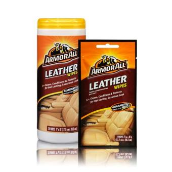 Harga Armor All A10881 AA Leather Wipes