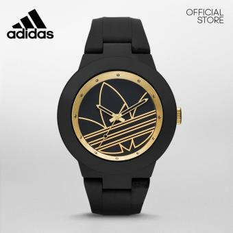 Harga ADIDAS ORIGINALS ABERDEEN BLACK SILICONE WATCH