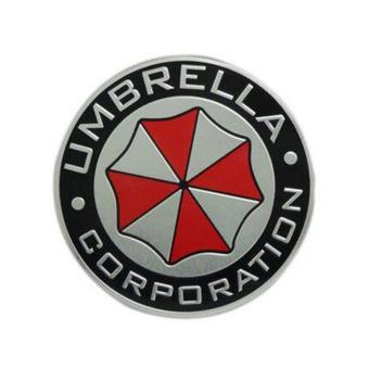 Fancyqube Metal 3D Umbrella corporation car Badge Emblem Car Trunk sticker - intl - 2