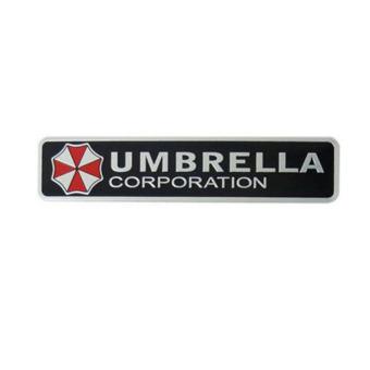 Fancyqube Metal 3D Umbrella corporation car Badge Emblem Car Trunk sticker - intl - 3