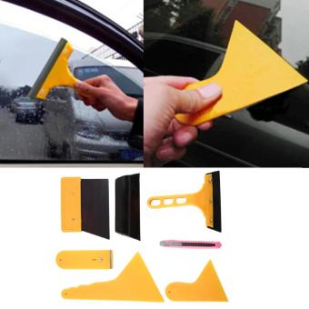 Harga Beau Car Auto Window Scraper Wrapping Tint Vinyl Film Squeegee Cleaning Tool Kit - intl