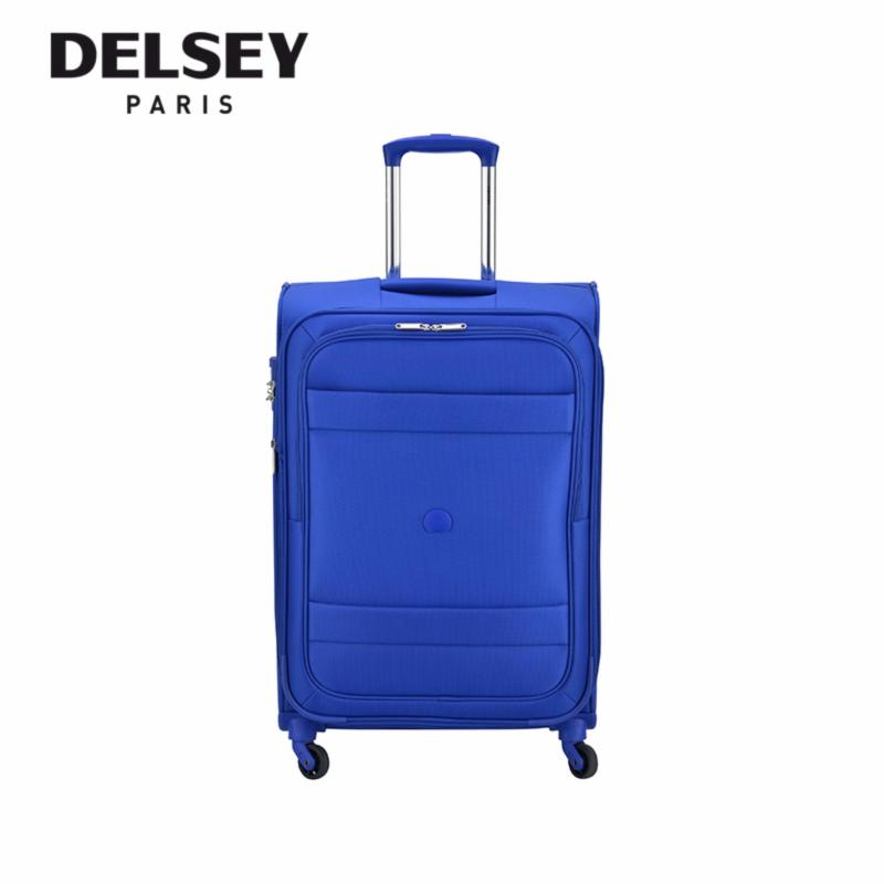 Indiscrete 69cm 4 Wheel Expandable Trolley Soft Case (Light Blue)