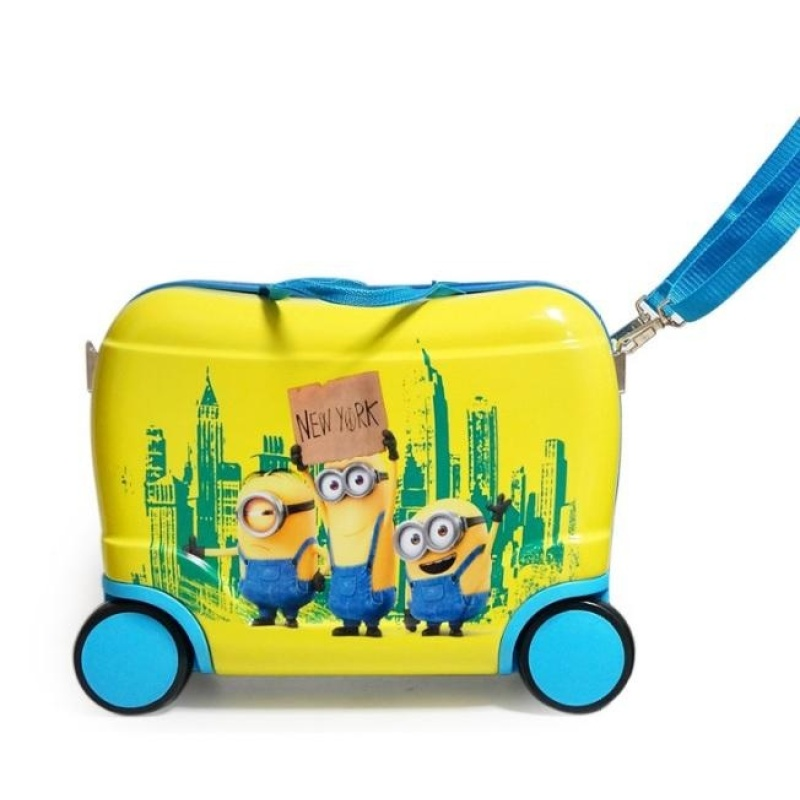 Kids Trolley Luggage Ride-On Suitcase - intl