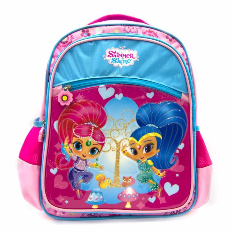 """Kidztime x Shimmer & Shine Sparkle Sisters Children 14"""" Backpack"""