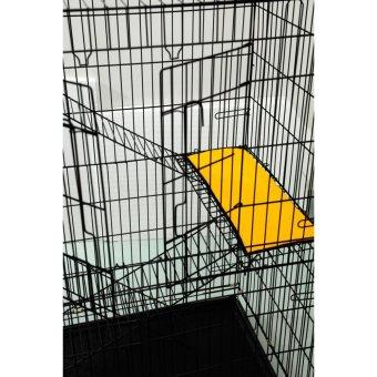 Large 3 Tier Folding Cat Cage Pet Cage - 4