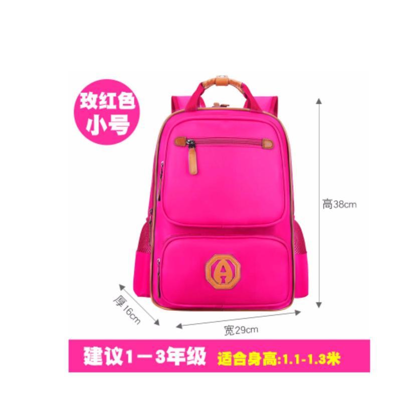 Light Ergonomic Bag / Ergonomic School Bag (New Version-Medium Rose Pink)