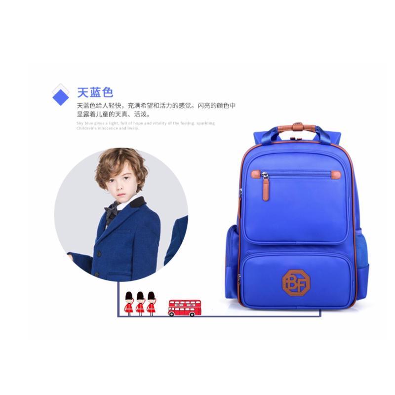 Light Ergonomic Quality Bags / Ergonomic Bag for Primary School - New Version Xltra Large Diamond Blue