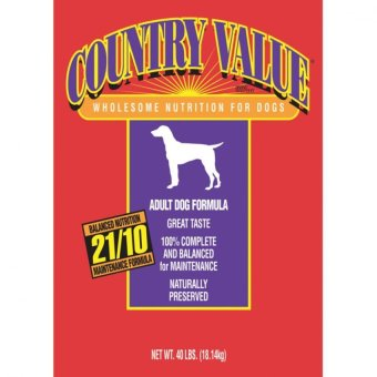 Harga MADE IN USA Country Value Dog Food 50lbs For Pets Dog