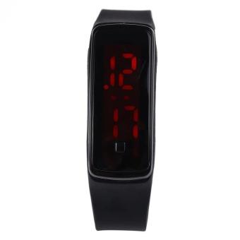 Men Women LED Digital Bracelet Watch Sport Wristwatch - intl - 2