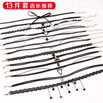 Neck neck band necklace