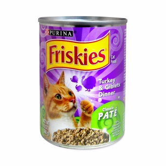 Harga PURINA FRISKIES Classic Turkey Cat Food 368g
