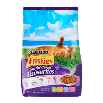 Harga PURINA FRISKIES Surfin & Turfin Cat Food 1.2Kg