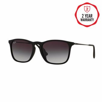 Ray-Ban Sunglasses Chris (F) RB4187F - Nero Gommato (622/8G) Size 54.
