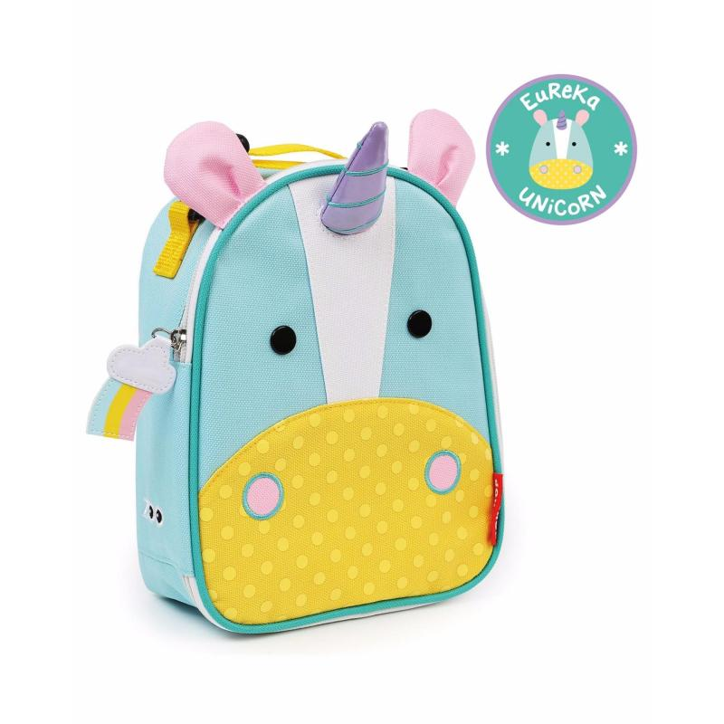 Skip Hop Zoo Lunchie Insulated Kids Lunch Bag - Unicorn