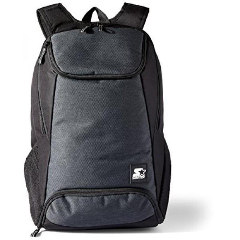 Starter Backpack with Shoe Pocket, Prime Exclusive, Black, One Size - intl