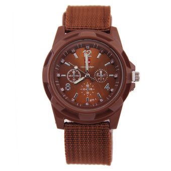 Swiss Army Luminous Exercise Watches Fashion Outdoor SportsWatch(Brown)